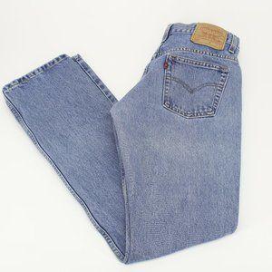 Vintage Levi's 505 Slim Fit Straight Leg Jeans
